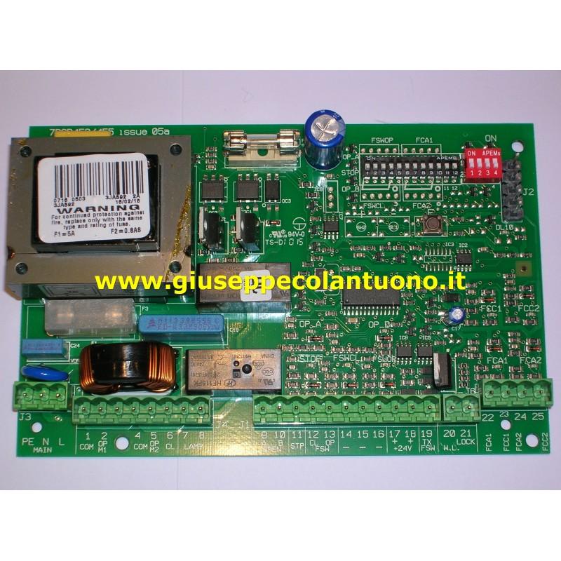Faac 452 mps 7pcb452 455 elettra automazioni di giuseppe for Faac 452 mps schema elettrico